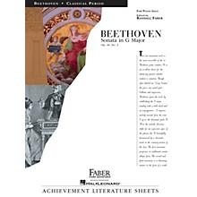 Faber Piano Adventures Sonata in G Major Op. 49, No. 2 Faber Piano Adventures® Series Composed by Ludwig van Beethoven