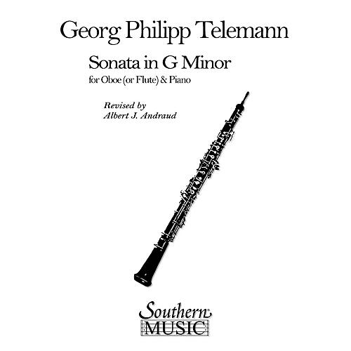 Southern Sonata in G Min (Oboe) Southern Music Series Arranged by Albert Andraud-thumbnail