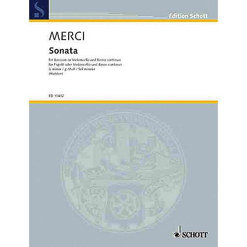 Schott Sonata in G Minor, Op. 3, No. 4 Schott Series