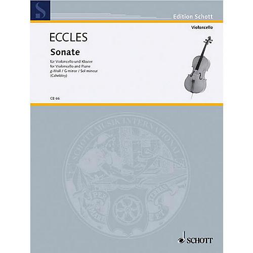 Schott Sonata in G minor (Cello and Piano) Schott Series