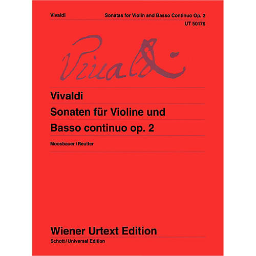 Carl Fischer Sonatas For Violin And Basso Continuo (Book + Sheet Music)-thumbnail