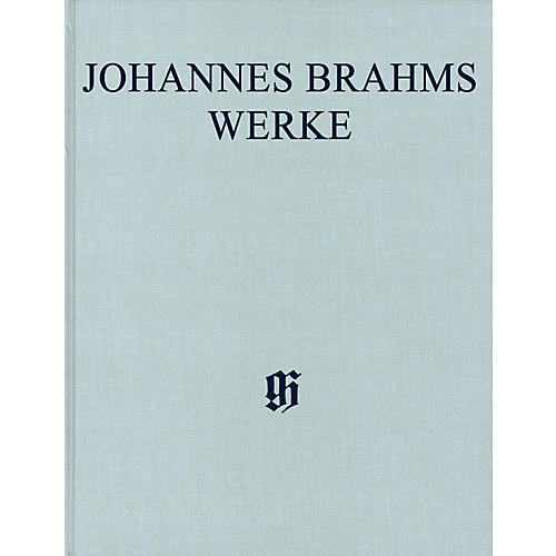 G. Henle Verlag Sonatas for Pa and Violoncello/Sonatas for Cl and Piano Henle Complete Hardcover by Brahms Edited by Voss-thumbnail