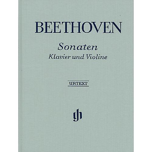 G. Henle Verlag Sonatas for Piano and Violin - Volumes I & II Henle Music Folios Series Hardcover