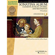 G. Schirmer Sonatina Album Schirmer Performance Editions Series Softcover Audio Online Composed by Various