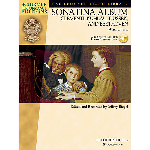 G. Schirmer Sonatina Album Schirmer Performance Editions Series Softcover Audio Online Composed by Various-thumbnail