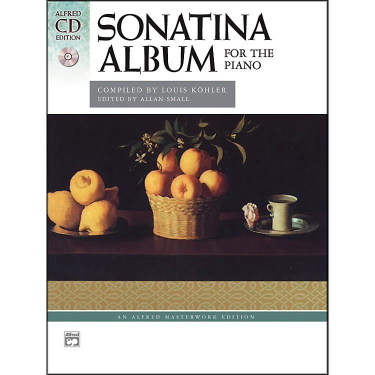 AlfredSonatina Album Smyth-Sewn Book & 2 CDs