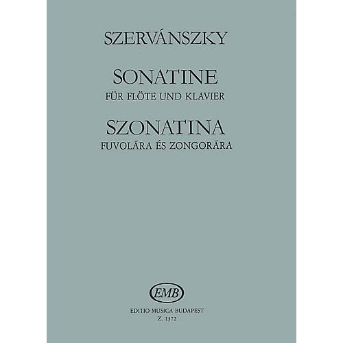 Editio Musica Budapest Sonatina EMB Series by Endre Szervánszky-thumbnail