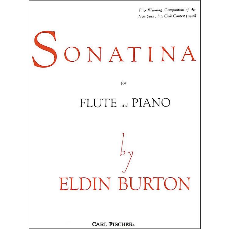 Carl FischerSonatina For Flute and Piano