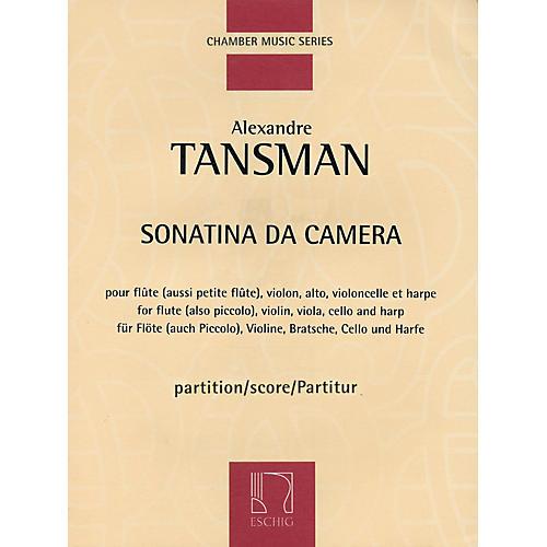 Max Eschig Sonatina da camera (Score) Editions Durand Series Composed by Alexandre Tansman
