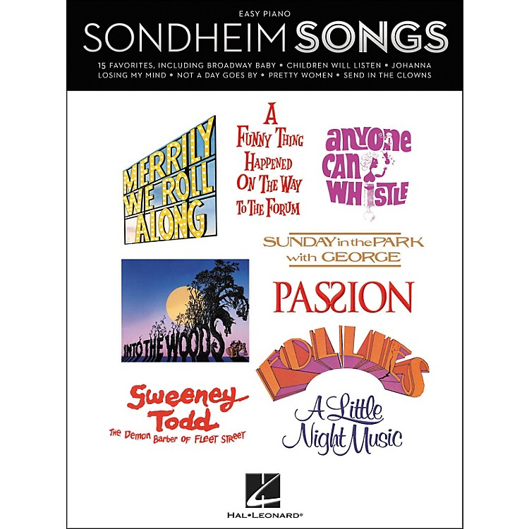 Hal Leonard Sondheim Songs - Easy Piano