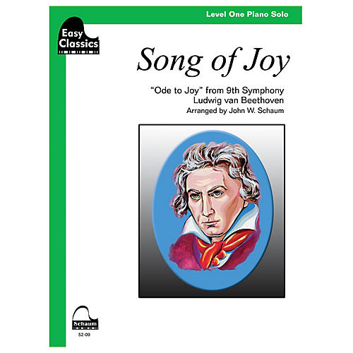 SCHAUM Song Of Joy Educational Piano Series Softcover-thumbnail
