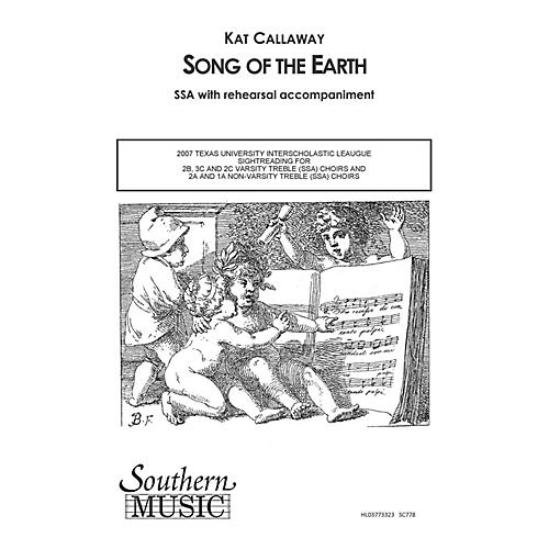 Southern Song of the Earth SSA Composed by Kat Callaway-thumbnail