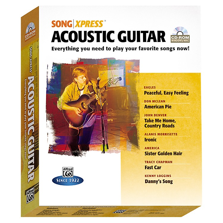 Alfred SongXpress - Acoustic Guitar CD-Rom