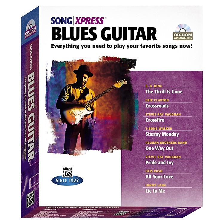 AlfredSongXpress - Blues Guitar CD-Rom