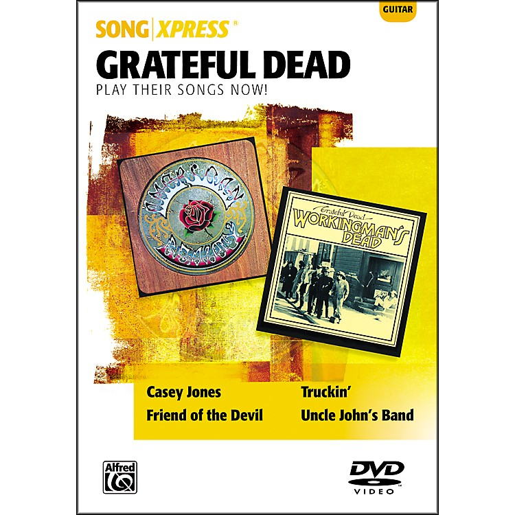 Alfred SongXpress - Grateful Dead Guitar DVD