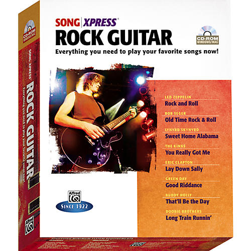 Alfred SongXpress - Rock Guitar CD-Rom