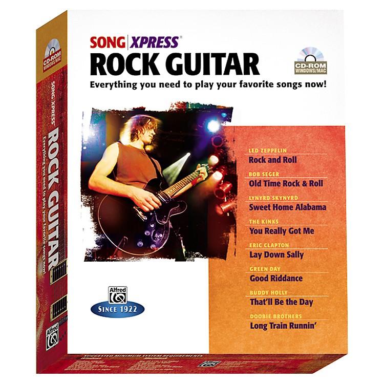 AlfredSongXpress - Rock Guitar CD-Rom