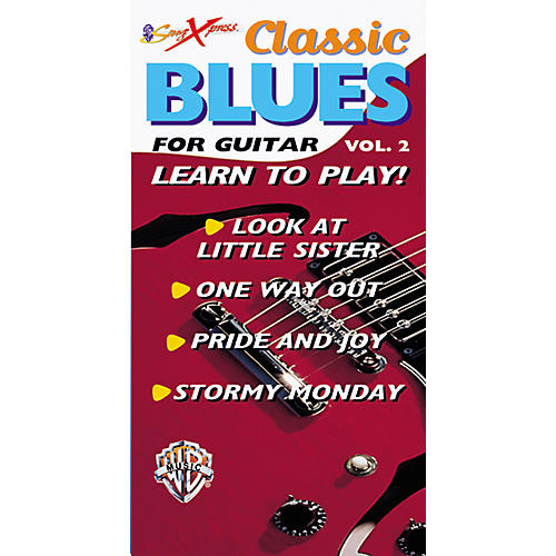 Alfred SongXpress Classic Blues for Guitar - Volume 2 Video