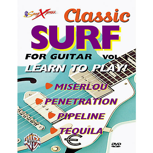 Alfred SongXpress Classic Surf for Guitar - Volume 1 (DVD)