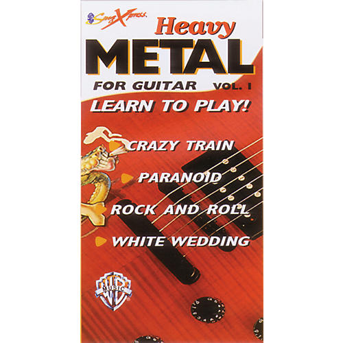 Alfred SongXpress Heavy Metal for Guitar - Volume 1 Video-thumbnail
