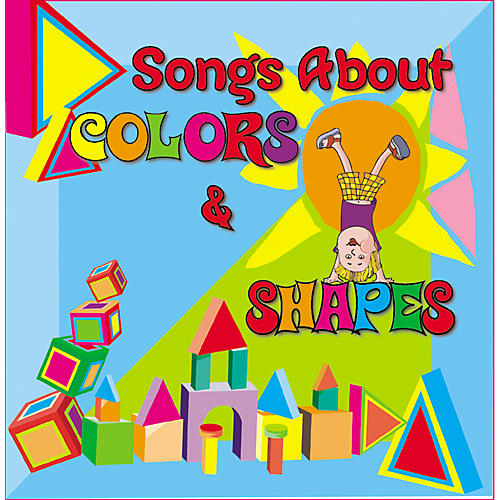 Kimbo Songs About Colors and Shapes CD/Guide