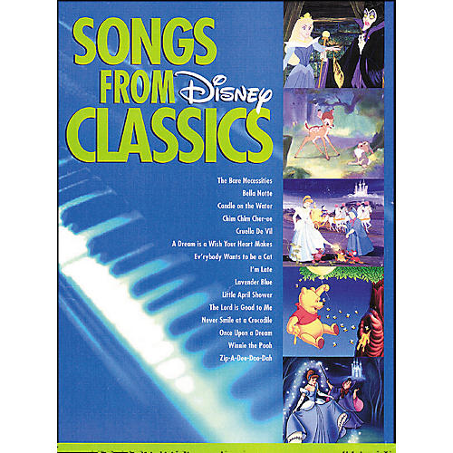 Hal Leonard Songs From Disney Classics for Big Note Piano-thumbnail