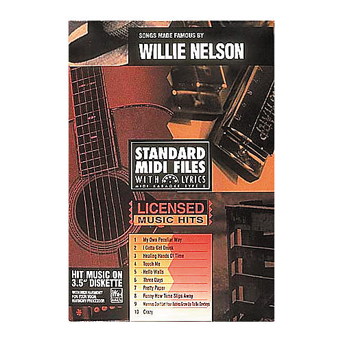 Hal Leonard Songs Made Famous by Willie Nelson - Tune 1000 Series (3-1/2