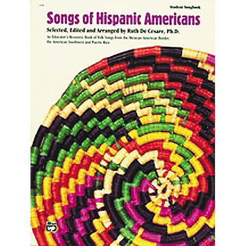 Alfred Songs Of Hispanic Americans