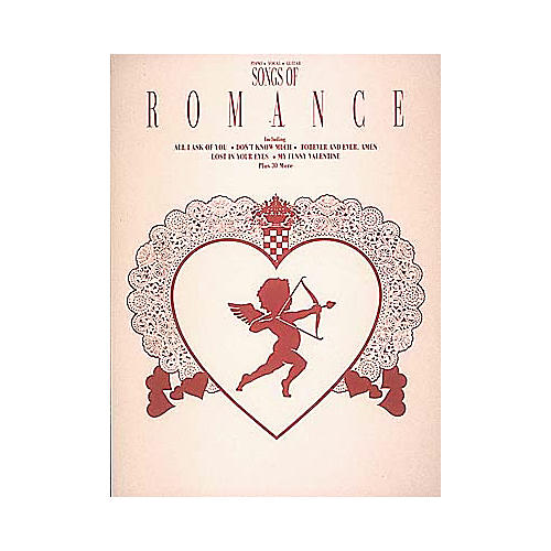 Hal Leonard Songs Of Romance Piano, Vocal, Guitar Songbook