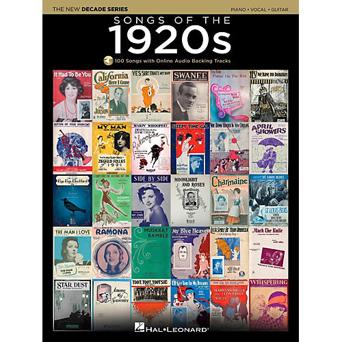 Hal Leonard Songs Of The 1920's - The New Decade Series with Optional Online Play-Along Backing Tracks