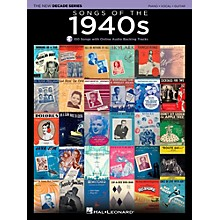 Hal Leonard Songs Of The 1940's - The New Decade Series with Optional Online Play-Along Backing Tracks