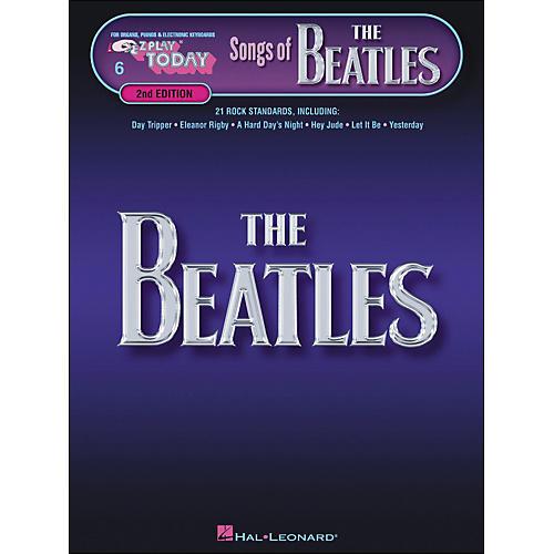 Hal Leonard Songs Of The Beatles 2nd Edition E-Z Play 6-thumbnail