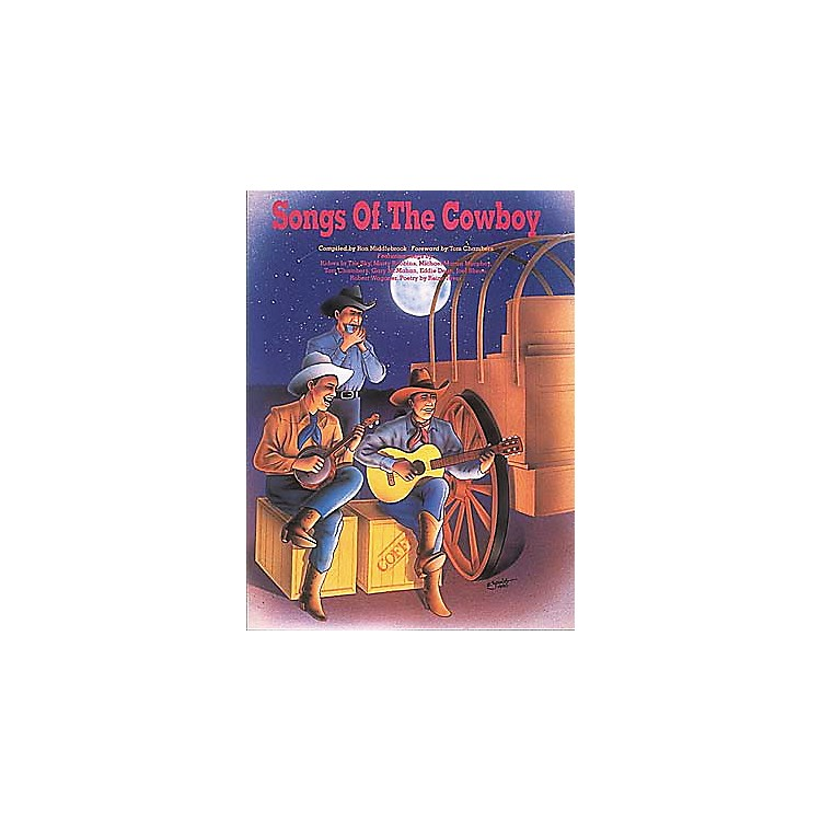 Centerstream Publishing Songs Of The Cowboy Guitar Tab Songbook