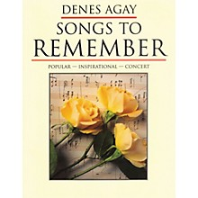 Yorktown Music Press Songs To Remember: Compositions Of Denes Agay Yorktown Series Softcover
