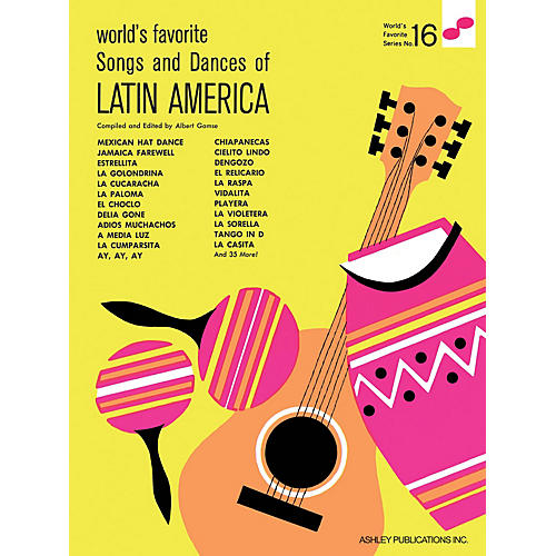 Ashley Publications Inc. Songs and Dances of Latin America World's Favorite (Ashley) Series-thumbnail