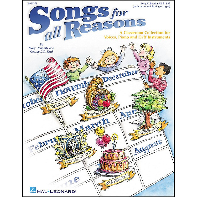 Hal Leonard Songs for All Reasons-Voices, Piano and Orff