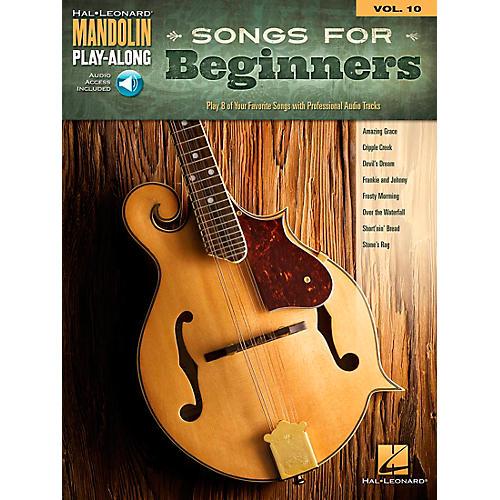 Hal Leonard Songs for Beginners - Mandolin Play-Along Vol. 10-thumbnail