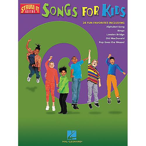 Hal Leonard Songs for Kids Guitar Tab Songbook-thumbnail
