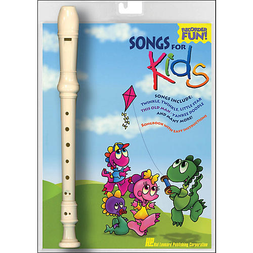 Hal Leonard Songs for Kids Recorder Fun! Pack