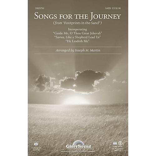 Shawnee Press Songs for the Journey (from Footprints in the Sand) Studiotrax CD Arranged by Joseph M. Martin