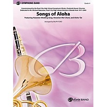 Alfred Songs of Aloha Concert Band Level 4 Set