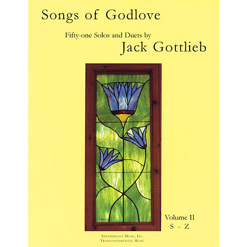 Transcontinental Music Songs of Godlove, Volume II: S-Z (51 Solos and Duets) Transcontinental Music Folios Series-thumbnail