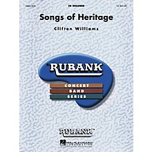 Hal Leonard Songs of Heritage Concert Band Level 3 Composed by Clifton Williams