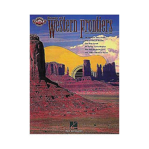 Hal Leonard Songs of Western Frontiers Fingerstyle Guitar Tab Songbook