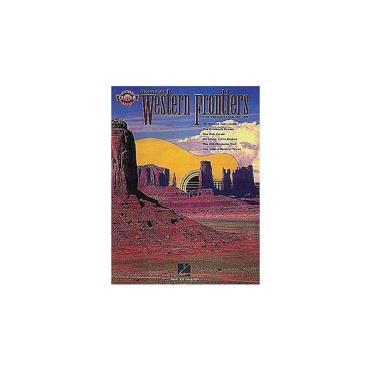 Hal LeonardSongs of Western Frontiers Fingerstyle Guitar Tab Songbook