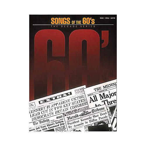 Hal Leonard Songs of the '60s Book
