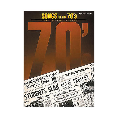 Hal Leonard Songs of the '70s Book-thumbnail