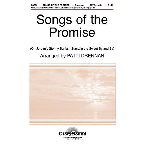 Shawnee Press Songs of the Promise SATB arranged by Patti Drennan-thumbnail