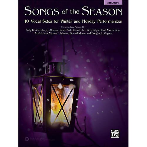 Alfred Songs of the Season Medium Low Acc. CD-thumbnail