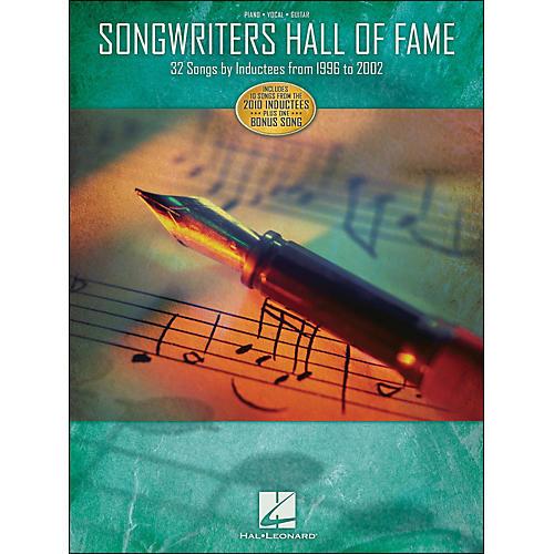 Hal Leonard Songwriters Hall Of Fame 1996 - 2002